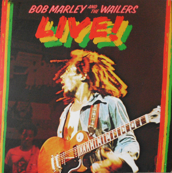 BOB MARLEY AND THE WAILERS Live! VINYL LP