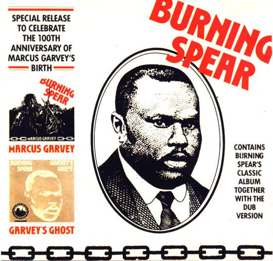 BURNING SPEAR - Marcus Garvey / Garvey's Ghost CD