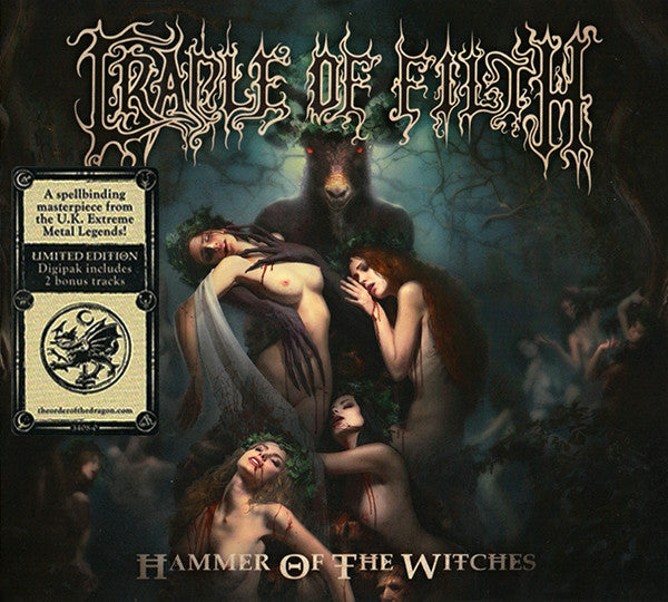 CRADLE OF FILTH Hammer Of The Witches CD