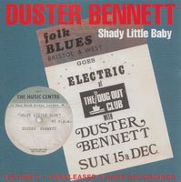 DUSTER BENNETT Shady Little Baby CD Volume 3 Unreleased & Rare Recordings 1965 -1974