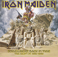 IRON MAIDEN Somewhere Back In Time - The Best Of: 1980-1989 CD