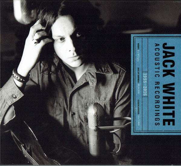 JACK WHITE Acoustic Recordings 1998-2016 2CD
