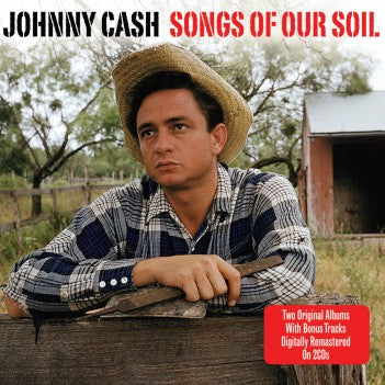 JOHNNY CASH Songs Of Our Soil / Hymns By Johnny Cash 2CD