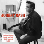 JOHNNY CASH The Fabulous Johnny Cash / Songs That Made Him Famous 2CD