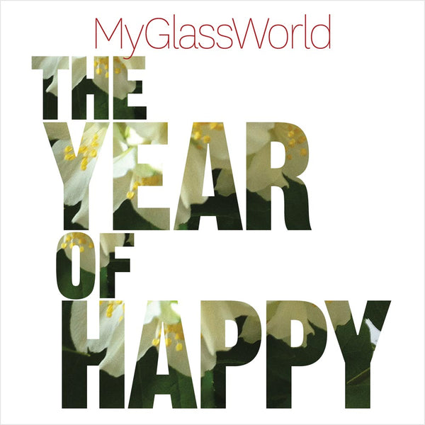 MY GLASS WORLD - The Year Of Happy CD