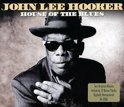 JOHN LEE HOOKER House Of The Blues 2CD