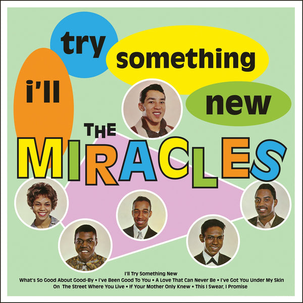 THE MIRACLES I'll Try Something New VINYL LP