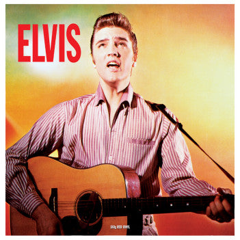 ELVIS PRESLEY - Elvis LP RED VINYL
