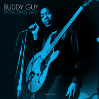 BUDDY GUY Stone Crazy Blues LP BLUE VINYL