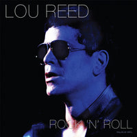 LOU REED Rock 'n' Roll BLUE VINYL LP