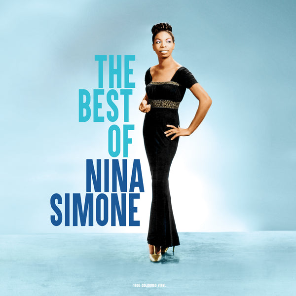 NINA SIMONE The Best Of LP Blue Vinyl