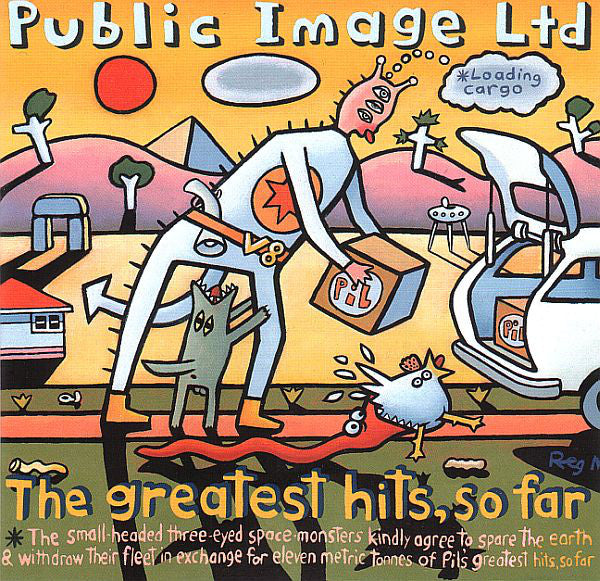 PUBLIC IMAGE LTD - The Greatest Hits, So Far CD