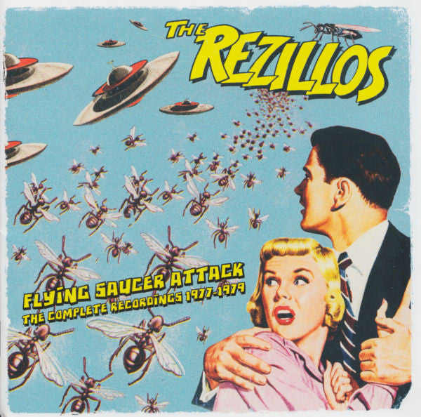 THE REZILLOS Flying Saucer Attack – The Complete Recordings 1977-1979 2CD