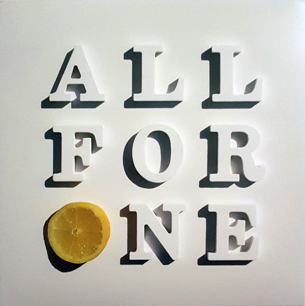"STONE ROSES All For One 7"" VINYL RECORD - Numbered - Single Sided"