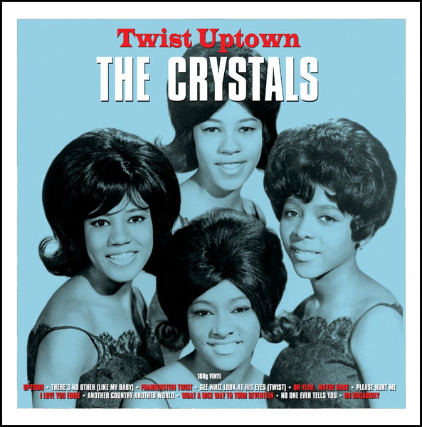 THE CRYSTALS Twist Uptown VINYL LP