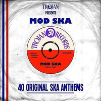 TROJAN PRESENTS MOD SKA: 40 Original Ska Anthems 2CD
