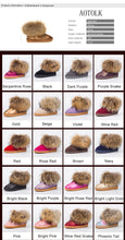 Load image into Gallery viewer, New Arrival Women Boots Genuine Leather Real Fox Fur  Winter Shoes