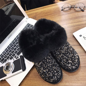 Winter Warm Boots Antiskid Outsole Lady Snow Boots-Bohemian for all season-crazywomenz