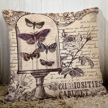 Load image into Gallery viewer, Couch cushion cover butterfly pillows peach fiber pillowcase-Quirky Products-crazywomenz