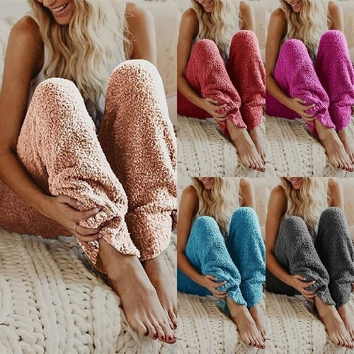 2019 new best seller European soft and comfortable women America plush pants-Bohemian for all season-crazywomenz