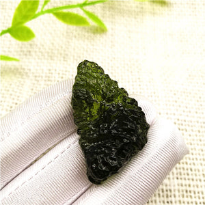 13-15g Free shipping Natural Moldavite Natural Czech meteorite rough stone crystal Energy stone random delivery-crazywomenz