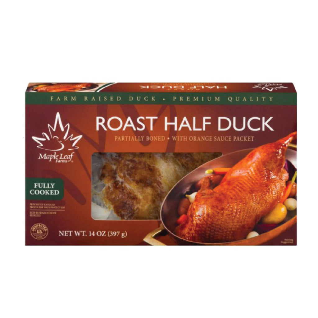 Maple Leaf Farms: Half Roasted Duck A La Orange