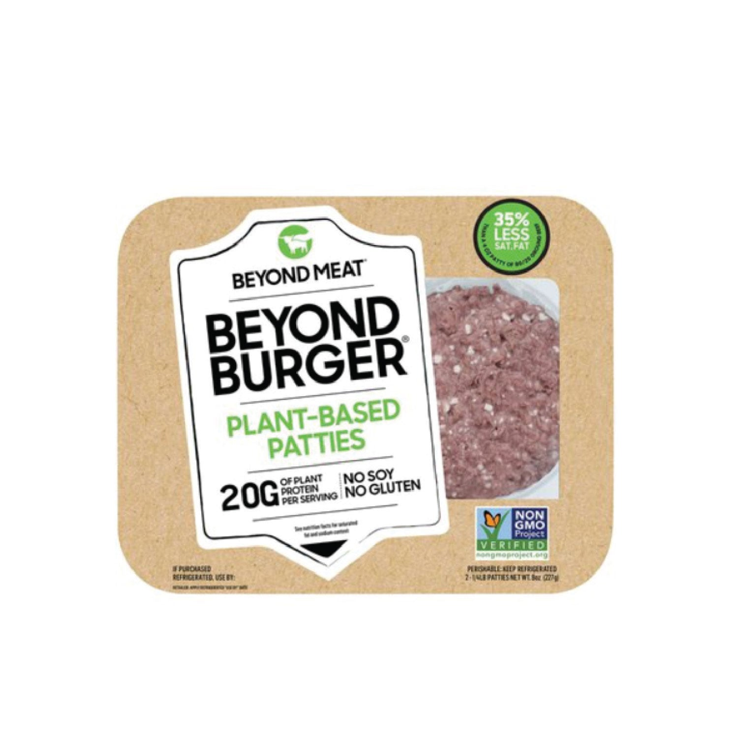 Beyond Meat Burger - 2pk - 4oz Patties