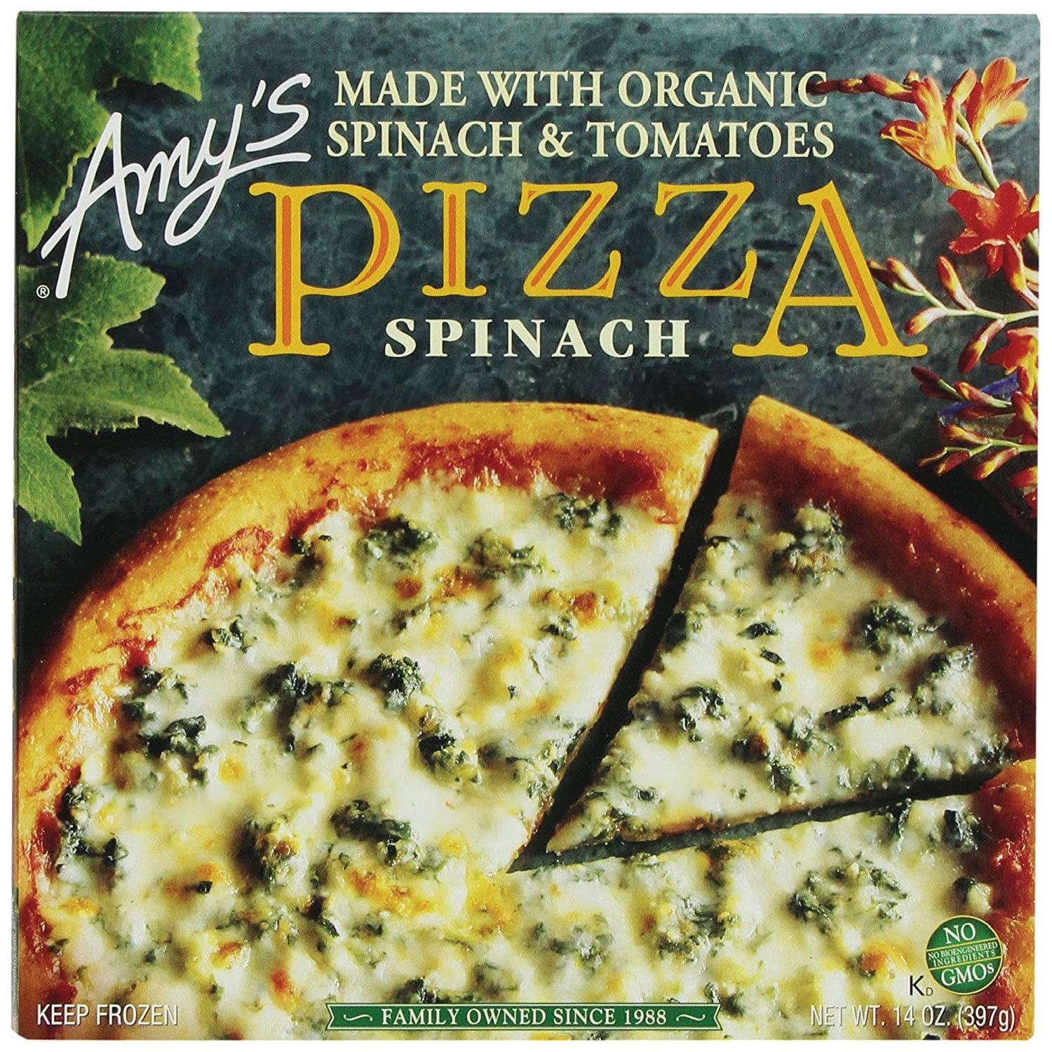 Amy's Frozen Spinach Pizza - 14oz.