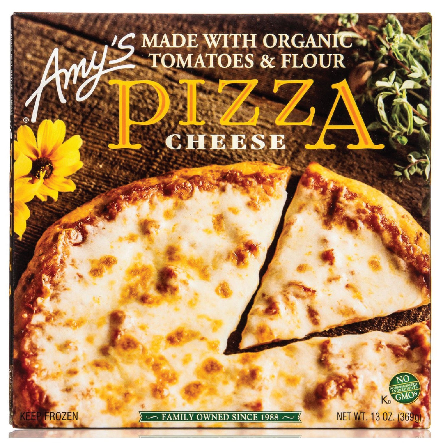 Amy's Frozen Cheese Pizza- 13 oz.