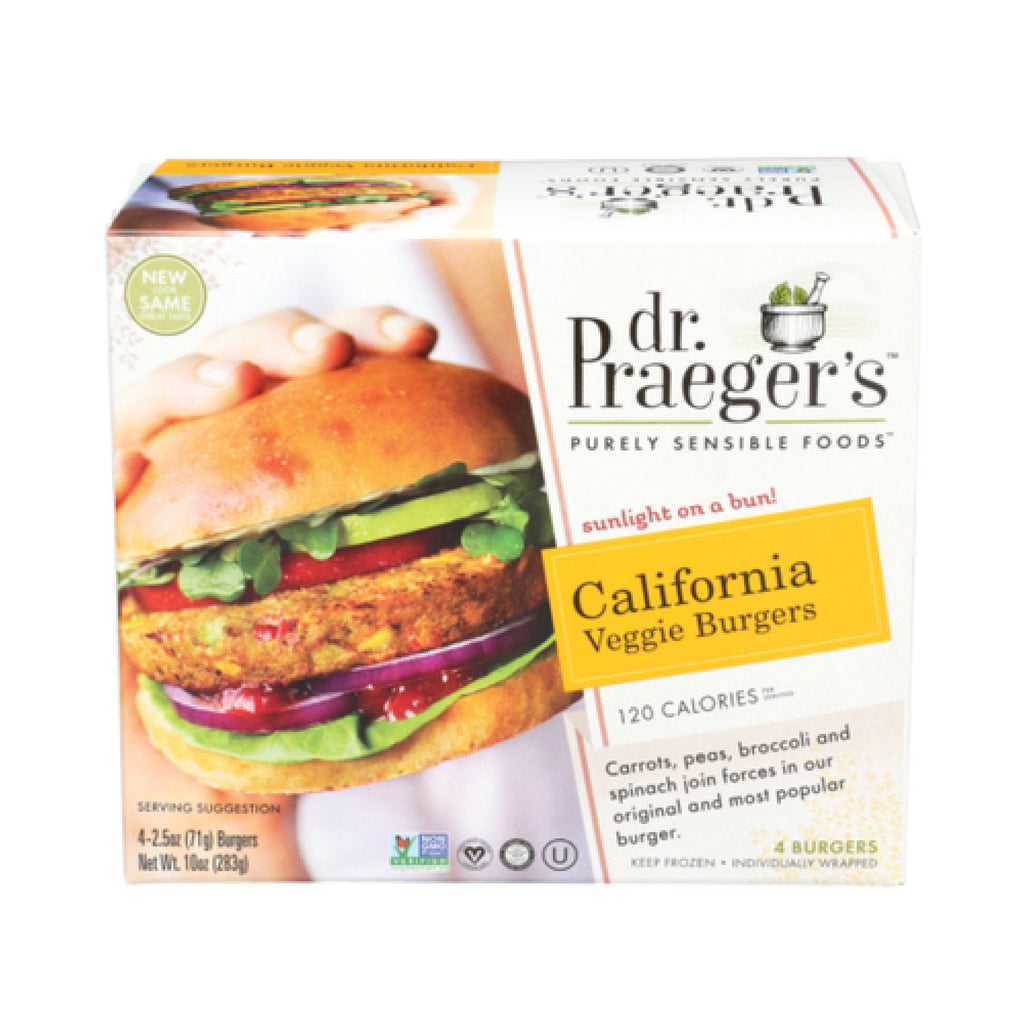 Dr. Praeger's Frozen California Veggie Burger - 10oz