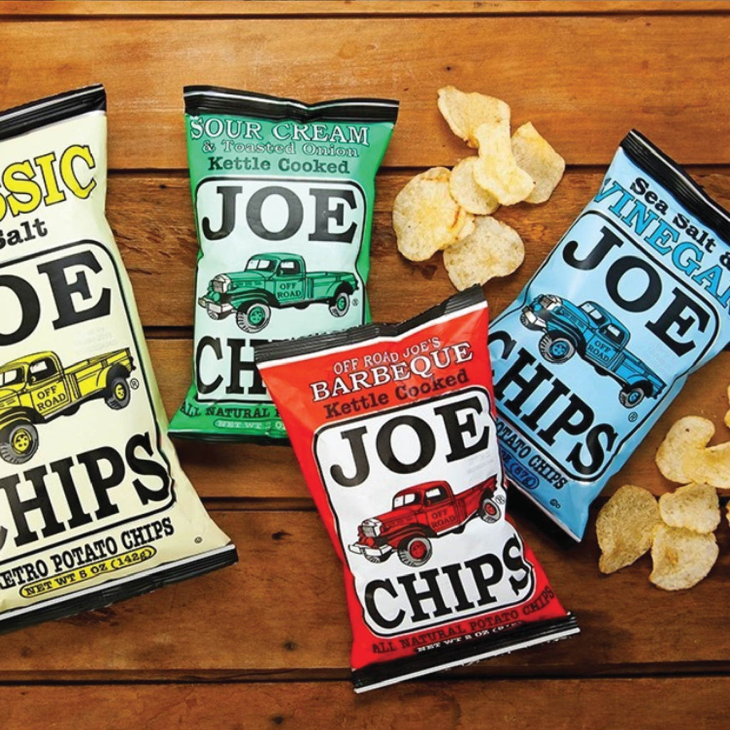 (8 Pack) JOE CHIPS - 2 oz.