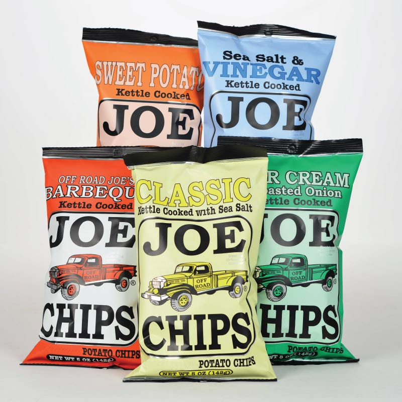 (By The Case) JOE CHIPS 5 oz.