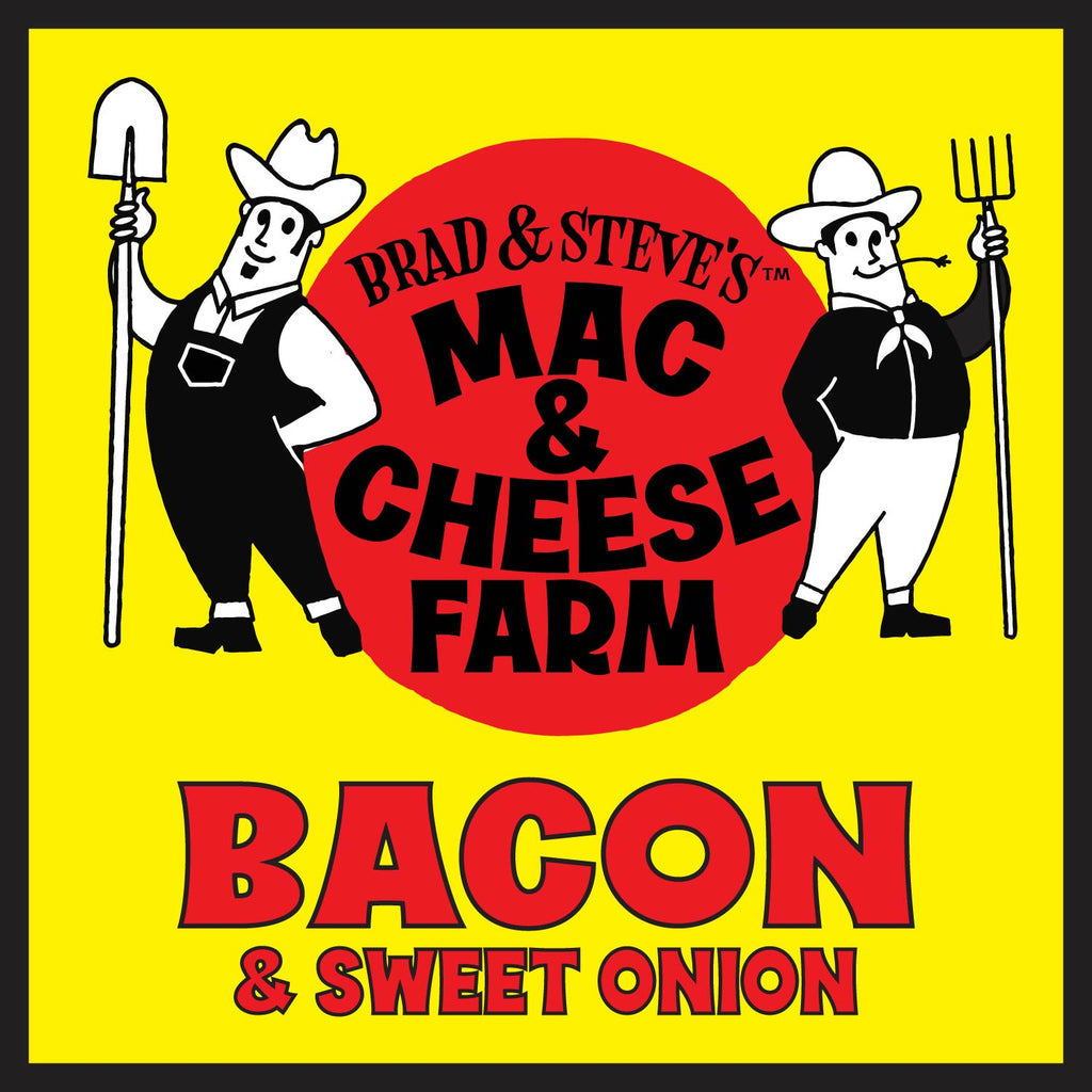 Brad & Steve's Mac & Cheese Farm: Bacon & Sweet Onions (17 oz.)