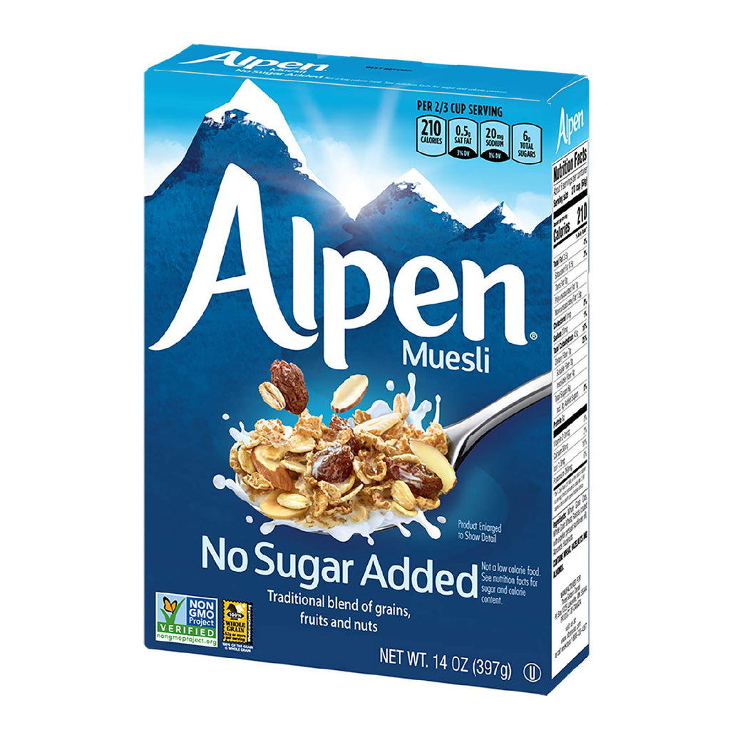 Alpen Swiss Style Muesli No Sugar Added