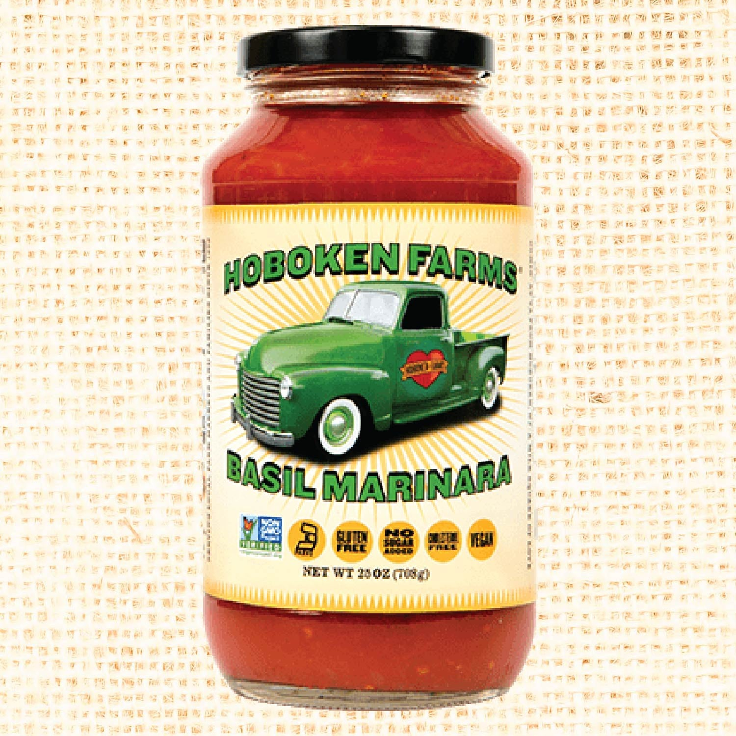 Basil Marina Sauce - 25 oz Glass Jar