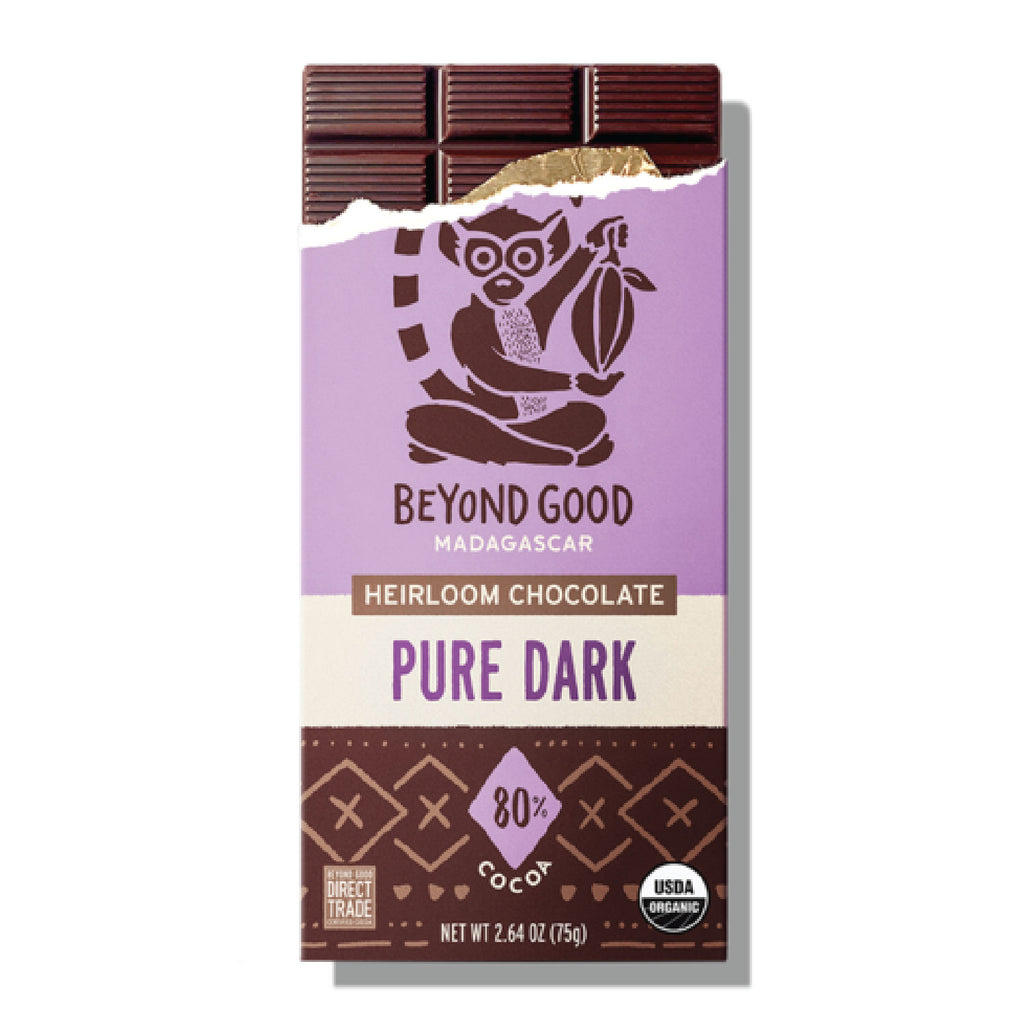 BEYOND GOOD - 80% MADAGASCAR PURE DARK CHOCOLATE
