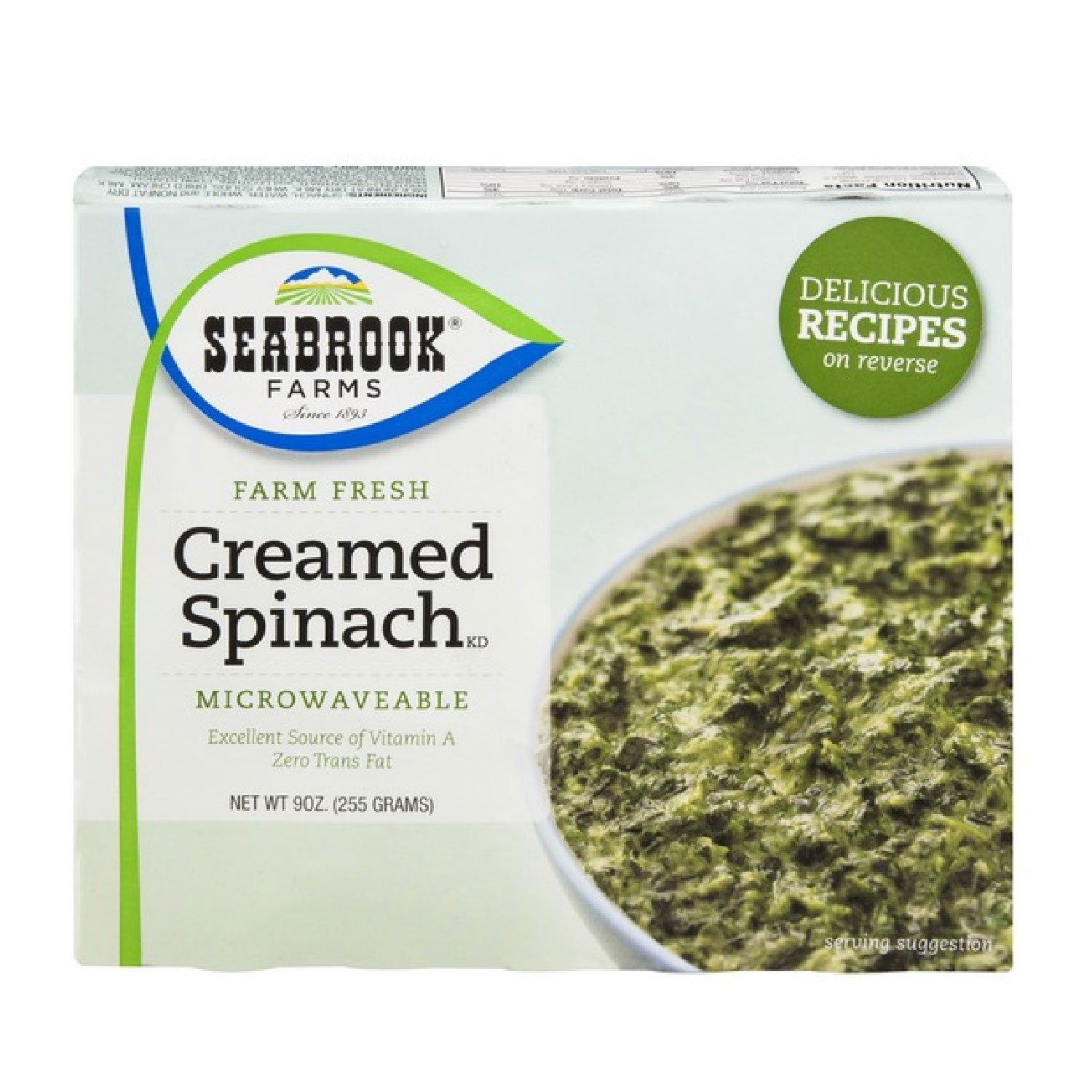 Seabrook Farms Creamed Spinach 16 oz.