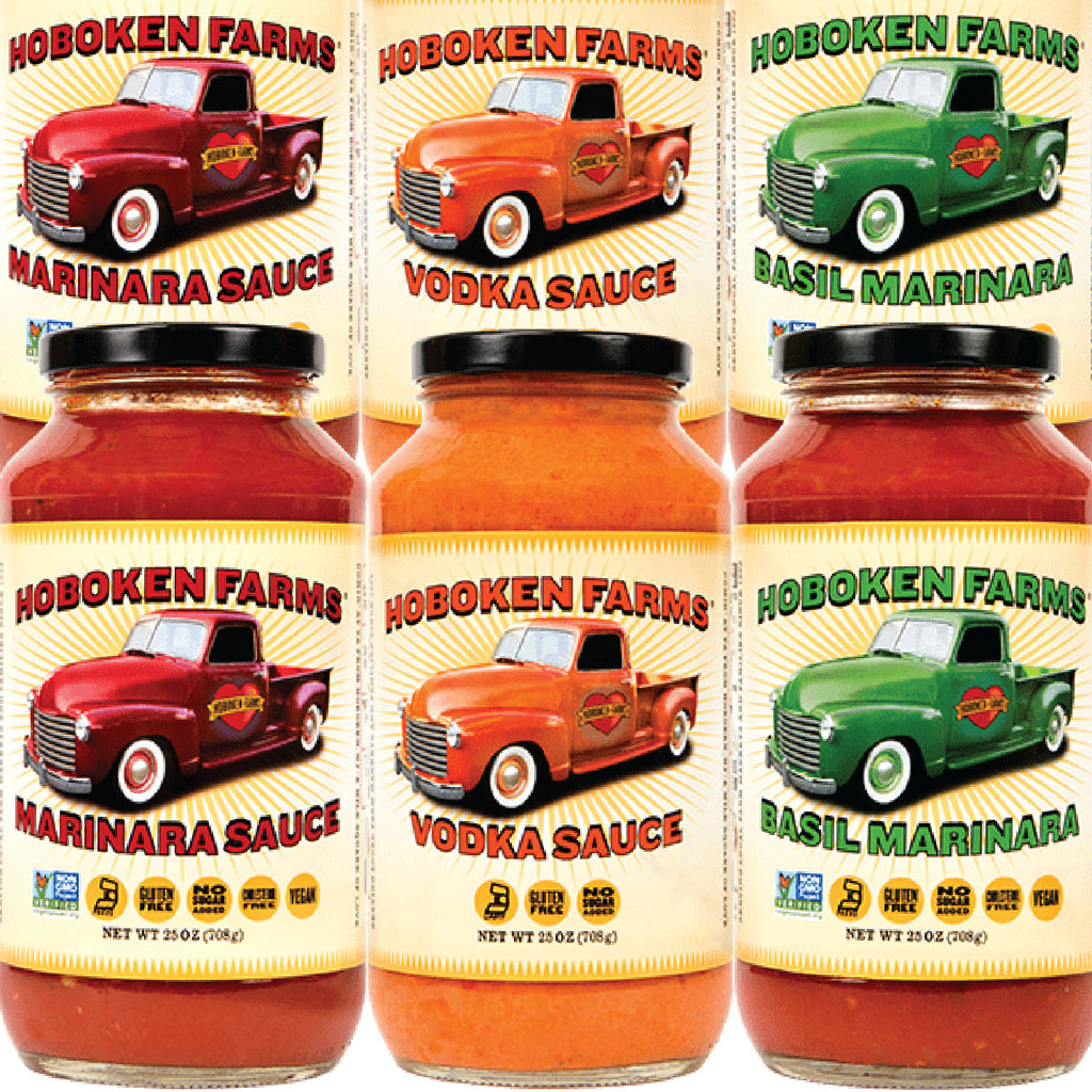 Hoboken Farms Sauce - Sampler - 6 Jars