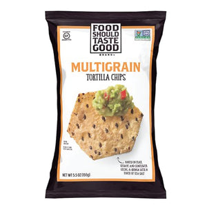 Food Should Taste Good Tortilla Chips - Multi Grain - 5.5 oz