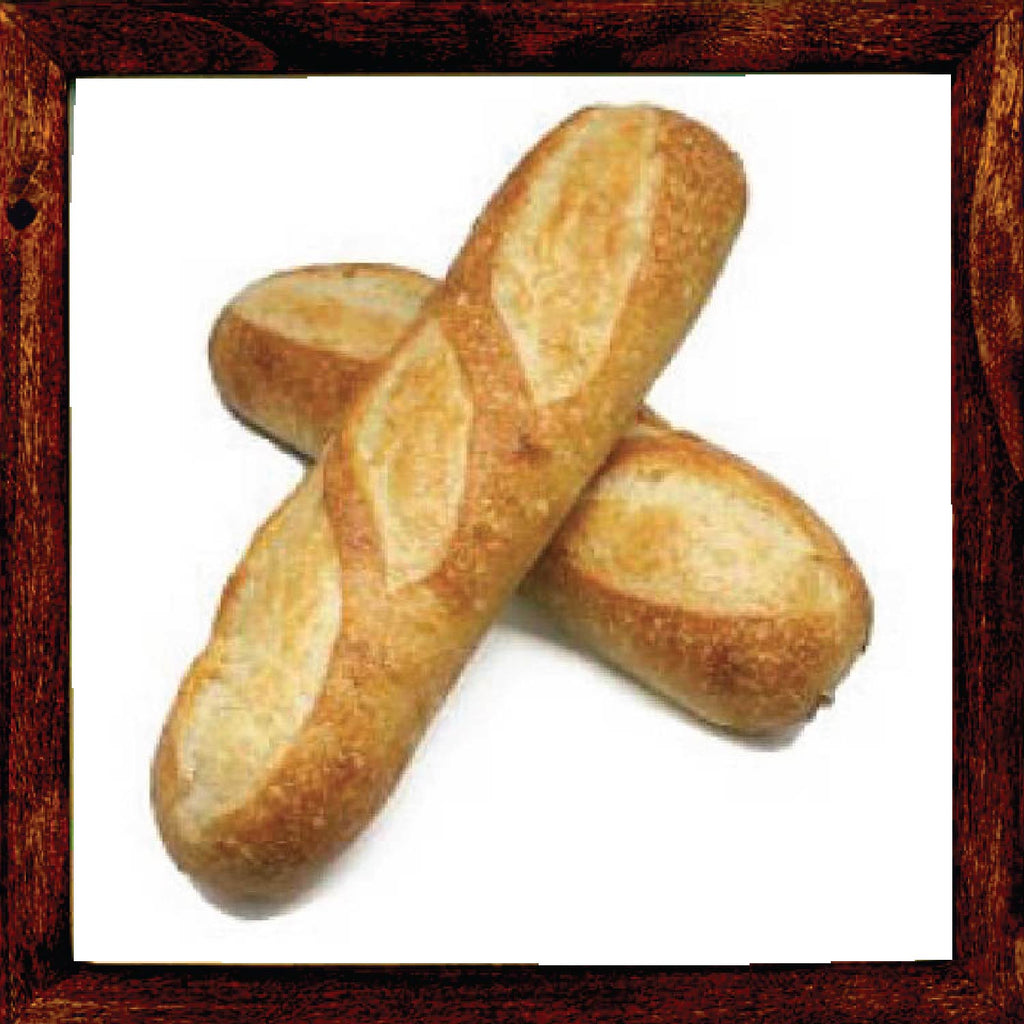 SMALL ITALIAN BREAD 11 INCHES- BAG OF 2