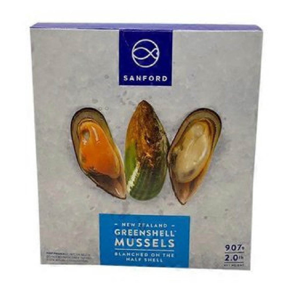 Sanford: Greenshell Mussels in Half Shell