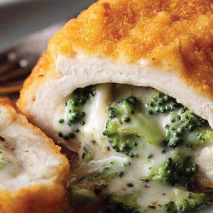 Stuffed Chicken w Broccoli and Cheese