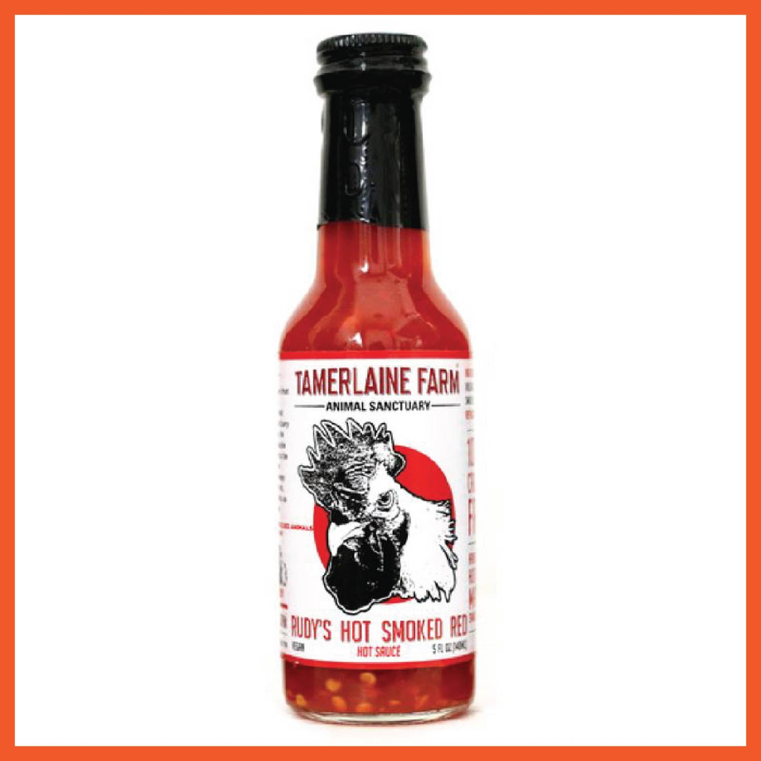 Rudy's Hot Smoked Red: Hot Sauce