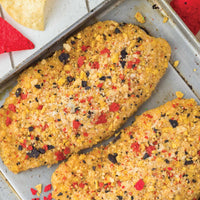 Tortilla Crusted Tilapia Fillets 3.2 oz 4 pc Bag