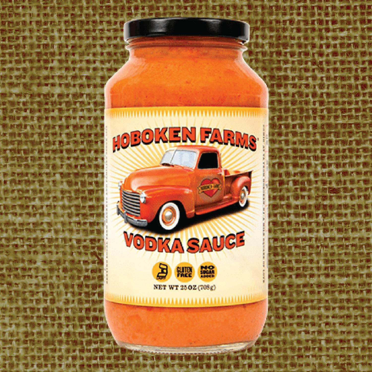 Vodka Sauce - 25 oz Glass Jar