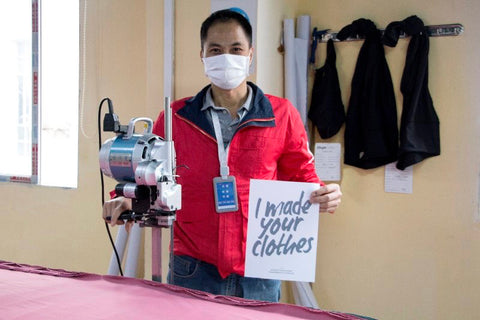 who made our clothes campaign at GNGR Bees