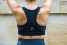 Load image into Gallery viewer, Carbon sports bra