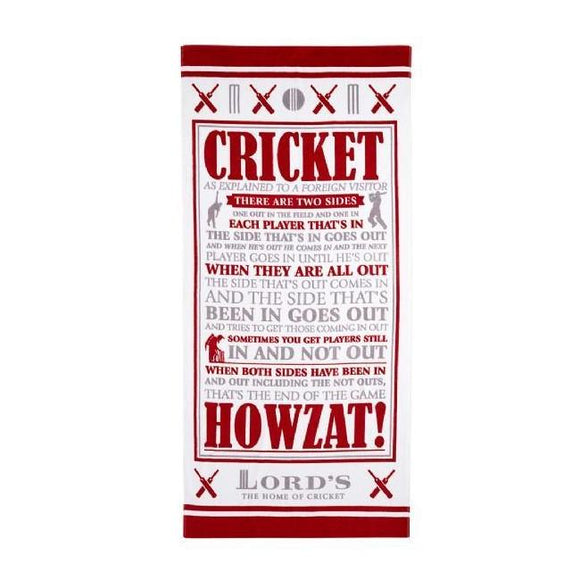CRICKET AS EXPLAINED TO A FOREIGN VISITOR