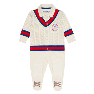 LORD'S BABY CRICKETER TEST MATCH ROMPER SUIT