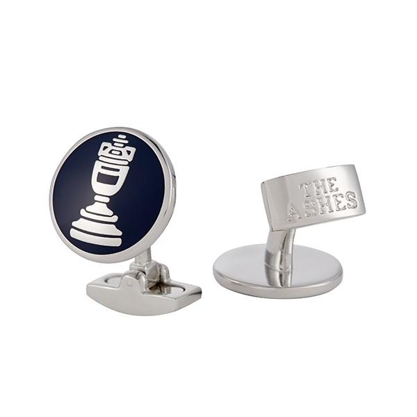 ASHES URN SILVER-PLATED & ENAMELLED CUFFLINKS